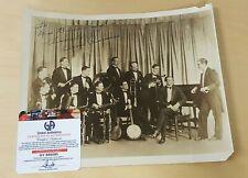 Bernie Cummins American Jazz Drummer Bandleader Autographed Photograph COA
