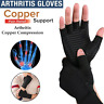 Copper Compression Arthritis Gloves Fit Rheumatoid Hands Joints Support Sleeves