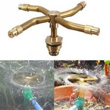 Diffusore acqua irrigazione ROTANTE a 4 ugelli innaffiare giardino orto piante