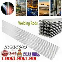 10~50PCS Solution Welding Flux-Cored Rods Aluminum Brazing Low Temperature Wire