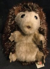 "Folkmanis Baby Hedgehog Hand Puppet Plush 7"" Turns Inside Out Hedgehog Ball"