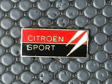 PINS PIN BADGE CAR CITROEN SPORT