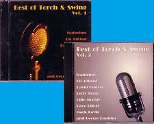 Best Torch Swing 2CD Classic Great DAVID HOUSTON DAVE ELLIOT MARK LAVING New
