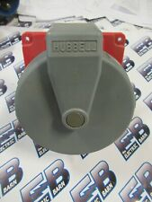 Hubbell 4100r7w 100 Amp 480v 3ph 4w Pin Amp Sleeve Receptacle Ps208 New S