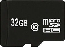 Tarjeta de memoria microSDHC microSD de 32 GB para la tarjeta de memoria para Samsung Galaxy a7