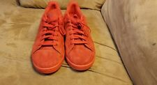 Red suede Adidas Stan Smith mens size 12