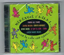 MERENGUE Y SALSA - EN LA CALLE CON SABOR - CD 10 TITRES - NEUF NEW NEU