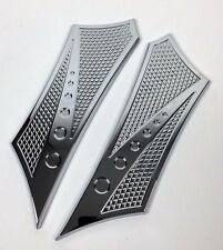 Floorboards for Harley Baggers Chrome-E-O Performance Show Chrome Finish