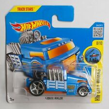 HW0010 Hot Wheels 2016 Crate Racer 8/10 - HW City Works DHX00