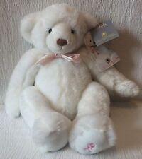 2002 Dakin Plush Susan Koman Bear 4th Edition Applause White Teddy Bear