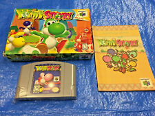 Authentic Nintendo 64 Yoshi's Story in Box N64