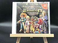 Evolution: The World of Sacred Device (Sega Dreamcast, 1999) from japan