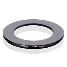 77mm-55mm 77mm to 55mm  77 - 55mm Step Down Ring Filter Adapter for Camera Lens