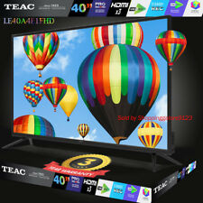 "TEAC 40"" Inch TV FHD LCD LED Pause LIVE TV 3x HDMI PVR EPG USB 3 Year Warranty"