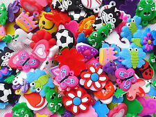 200Pcs Charms for Rainbow Loom Rubber Bands DIY Bracelet Making Crafts