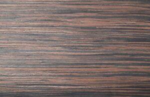 Ebony Veneer - REAL Wood - Fleece Backed | 2400mm x 300mm - 0.72m2
