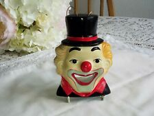 QUIRKY COLLECTABLE CLOWN WALL PLAQUE.