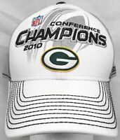 Green Bay Packers NFL Reebok 2010 Conf. Champions OSFA flex cap/hat
