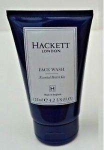 HACKETT London for Men FACE WASH Essential British Kit - 125ml - Brand New