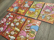 7 Sanrio Hello Kitty Red Envelopes / Money Envelopes Year Of The Ox 2021