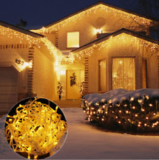 100LED 10M/33FT Yellow String Fairy Lights Christmas Wedding Garden Party Xmas