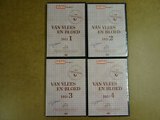 4-DVD SET HUMO / VAN VLEES EN BLOED  ( DVD 1 - 4 )