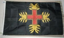 Order of the Dragon Ordo Draconum 3'x5' Flag Dracula Vlad Tepes Hungary USshiper