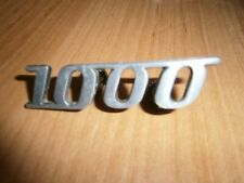 """Wartburg 311 312 IFA DDR Oldtimer Logo Emblem """"1000"""""""