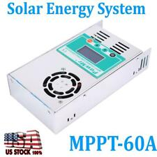 MPPT-60A Solar Charge Controller Energy System For 12-48V DC Battery Regulator