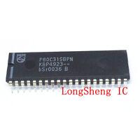 5PCS P80C31SBPN DIP-40 8-bit Microcontrollers MCU 80C51 128B 16MHZ ROMLESS new