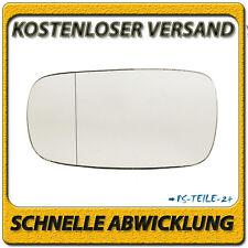 Spiegelglas für RENAULT LAGUNA II 2002-2008 links Fahrerseite asphärisch