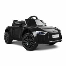 Rigo Kids Audi R8 Power 12V Battery Electric Ride On Toy Car - Black