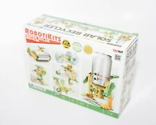 NEW ROBOTOKITS 6 in 1 Super Solar Recycler Turn  Can, Bottle, CD into Toy ROBOT