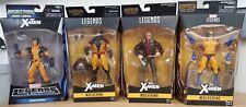 Marvel Legends Wolverine Juggernaut BAF Series Set - X-Men 4 different figures