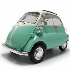 1:18 Vintage 1955 BMW Isetta Model Car Diecast Alloy Collectible Vehicle Green