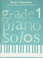 Grade 1 Piano Solos (Graded Piano Solos) by Various, NEW Book, FREE & Fast Deliv