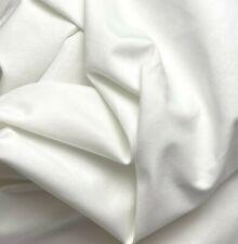 Optic Bright White 100% Cotton Liner Fabric Canvas Duck 58