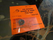 The Original Shurz-A-Peep Sight NOS ~ Large Hole Peep Sight ~ FREE SHIPPING