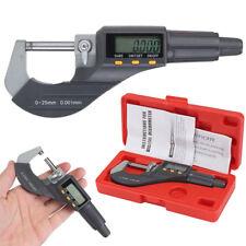 """electronique Digimatic Micromètre digital 0-25mm extérieur 0-1 """"/ 0.0001cm écran"""
