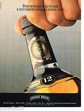 PUBLICITE ADVERTISING 055  1988  CHIVAS REGAL   whisky 12 ans d'age 2