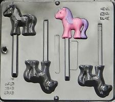 My Little Pony Lollipop Chocolate Candy Mold  3307 NEW