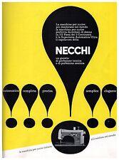 PUBBLICITA' 1960 NECCHI MACCHINA DA CUCIRE SUPERNOVA AUTOMATICA ULTRA TECNICA