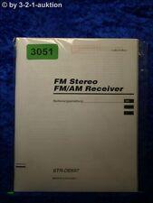 Sony Bedienungsanleitung STR DE697 FM/AM Receiver (#3051)