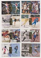 1996 UPPER DECK OLYMPIC PASSING THE TORCH (15) CARD SET ~ WITH MICHAEL JORDAN