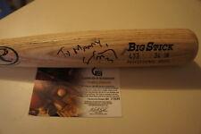 Eric Chavez Oakland Athletics A's Signed Autograph Baseball Bat