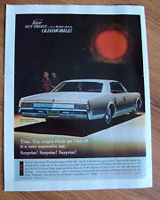 1966 Oldsmobile 442 Coupe Classic Advertisement Ad A1B