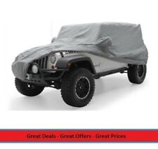 Smittybilt Full Climate Jeep Cover for 2007 to 2017 Wrangler 4-door, 835