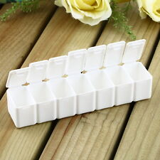 7 Day Tablet Pill Box Holder Weekly Medicine Storage Organizer Container Case UR