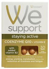 2 x Wassen Coenzyme Q10 + Vitamin E (CoQ10) 30 Tablets
