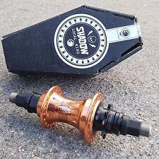SHADOW CONSPIRACY RAPTOR II SDS REAR CASSETTE HUB RHD/LHD COPPER 9T BMX BIKE HUB